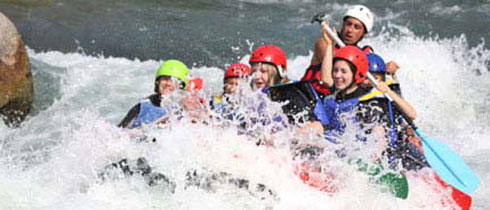 rafting groupe